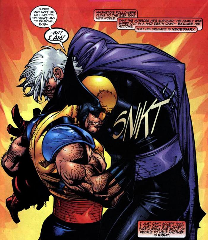 X-Men Fatal Attractions full set of six (Marvel 1993) X-Men 25; Wolverine 75 etc