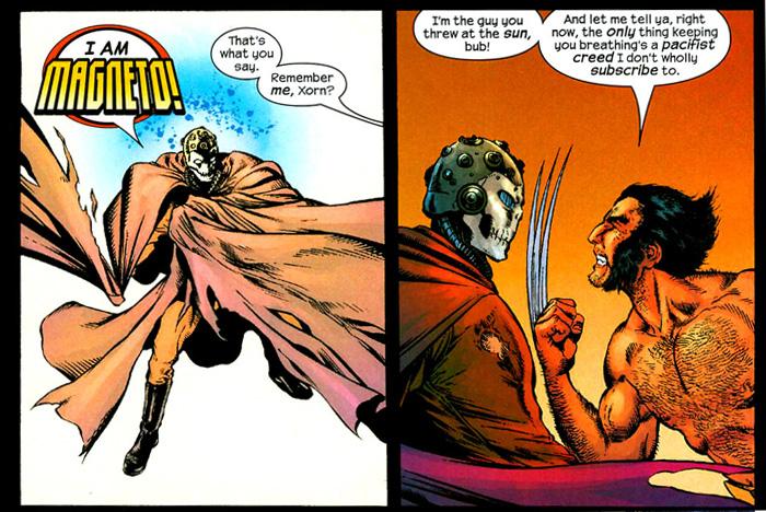 Xorn vs Wolverine
