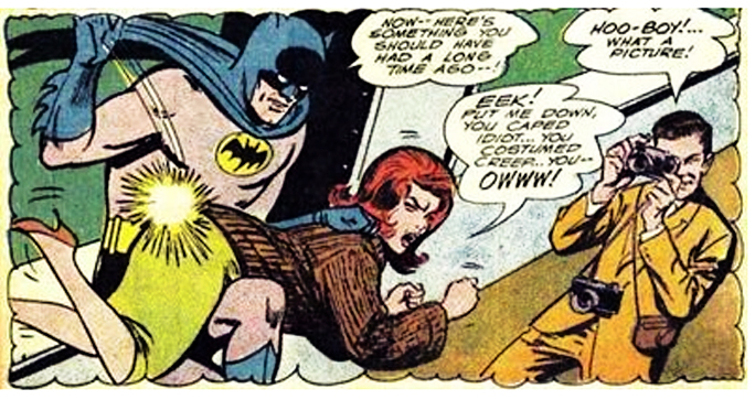 Spanking Batman